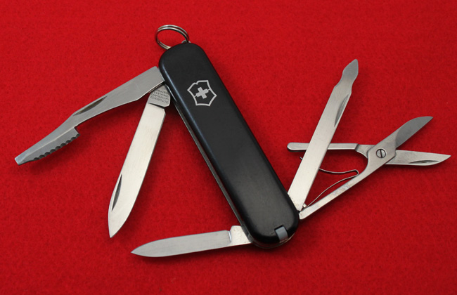 Victorinox Executive 74mm with Black cellidor scales