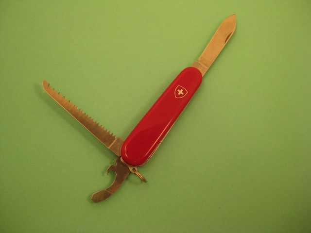 Victorinox Lumberjack 84mm. Pictures by ColoSwiss.